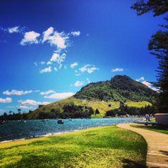 Mount Maunganui in Mount Maunganui, Bay of Plenty