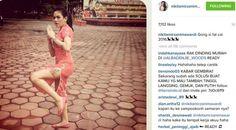Pamer paha di Instagram, Nikita Mirzani menerima beragam komentar di Instagram.