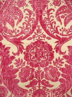 Luca - Pink - Scalamandre Fabrics