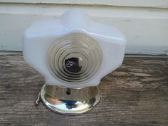 Art Deco Sconce 1920s Lighting Home Decor Vintage Bathroom Hollywood Regency. $80.00, via Etsy.