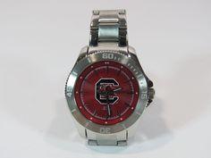 Jack Mason NCAA South Carolina Womens Stainless Steel Strap Watch NEW NWOB #JackMason #Casual