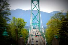 bridge via stanley park, vancouver, BC