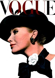 VOGUE UK           1964        Cover by Helmut Newton