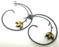 Judith Kinghorn earrings.  From The Grand Hand Gallery
