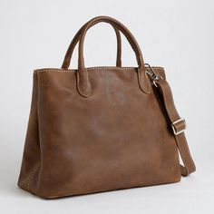 Daily Double Tribe | Women's Leather Tote Bags | Roots