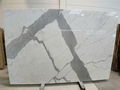 Quality Statuario bianco marble thick slabs in stock, polished finish. Statuario Marble, White Marble, Stone, Color, Rock, Colour, Stones, Batu, Colors