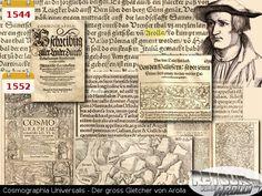 1544 - Cosmographia Universalis - der gross Gletscher von Arolla Bern, History, Once Upon A Time, Historia