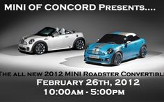 MINI of Concord Sales Evemt