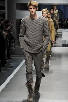 Fendi Milan Fashion Week Menswear F/W 2013. Sweater