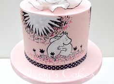 Moomin cuddle cake
