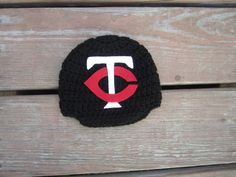 Newborn  Minnesota Twins baby cap,crochet baby cap,boy cap,baby girl beanie Minnesota Twins hat photo prop shower gift by Etvy on Etsy