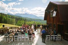 Gorrono Ranch Telluride wedding / photo: Cat Mayer Studio