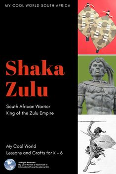 Zulu Warrior, Warrior King, Crafts To Make, Easy Crafts, Fun Group, Great Power, I Cool, Craft Activities, South Africa