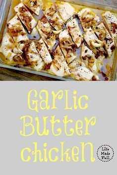 Garlic Butter Chicken with Caramelized Onions!