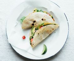 Tacos green salsa verde