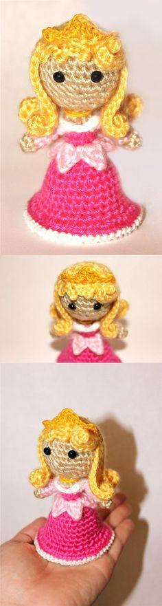 Sleeping Beauty Doll Amigurumi Pattern