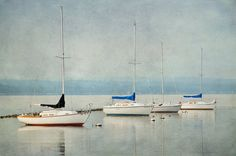 Boat Photography Sailboats Summer Wall Art Home by #KateRyanFineArt #fpoe #photography