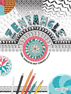 A new Zentangle book, lot's of Zentangle variation and instructions.