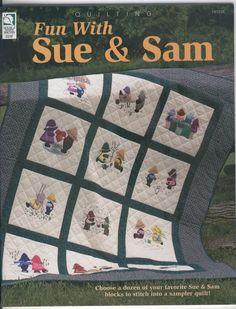 199 Quilting fun with Sue & Sam - maria cristina Coelho - Picasa Web Albums...