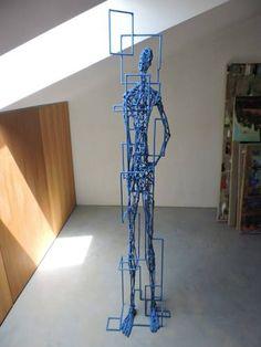 "Saatchi Art Artist Michele Rizzi; Sculpture, ""Star man and physics"" #art"