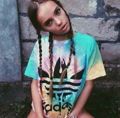 The ultimate babe Inka Williams rocking our Badass Tee! www.tibbsandbones.com