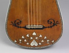 Guitar, ca. 1630–50 - Attributed to Matteo Sellas - Italian, ca. 1612–1652) - Venice - Wood, bone, various materials