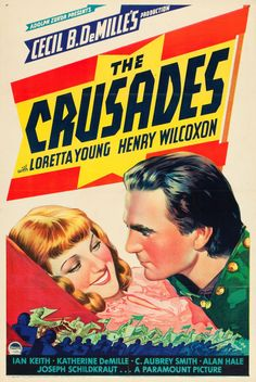 "Movie Posters:Adventure, The Crusades (Paramount, 1935). One Sheet (27"" X 41"") Style C.. ... Image #1"