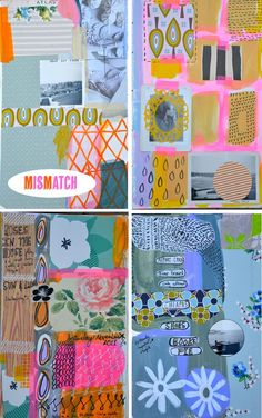 art journal pages by mary ann moss (dispatch from la)