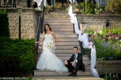 August Wedding at Glen Sanders Mansion