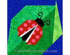 Clear directions and carefully detailed paper piecing patterns make it easy to sew the sweet Ladybug quilt block pattern. The pattern pieces provided yield a 6 inch (15.24 cm) quilt block, easily resizable using the percentages chart included. Youll receive both Ladybug quilt block versions shown: one sits on a plain background, the other on a curled edge leaf. The optional antennae may be embroidered or added with fabric paint or marking pen. The quilt pattern also includes a coloring page…