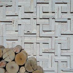 Brogliato Revestimentos - Coleção 3D Mosaic - D070 Travertino - 30x30cm.
