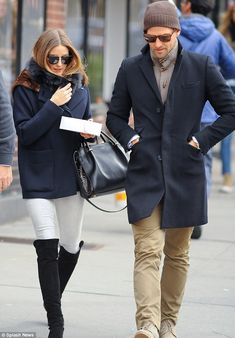 Olivia Palermo Wears Stunning Knee-Length Riding Boots For NYC Lunch With New Fiancé