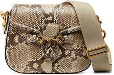 Lady Web python shoulder bag
