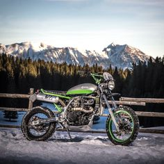 "Kawasaki KLR 650 ""Monster Tracker"" by 7 Seven Cust..."