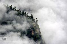 Foggy - Pinned by Mak Khalaf Landscapes Foggycloudslandscape by ypren
