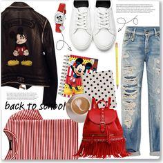 Back To School: Mickey