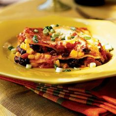 Tex-Mex Lasagna by Cooking Light