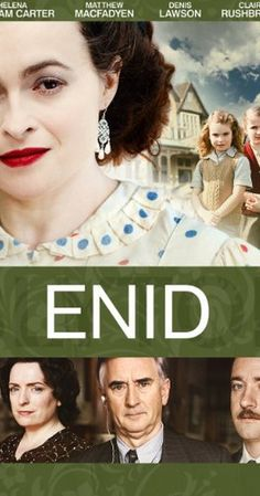 ENID (2009) Edwardian child Enid Blyton begins to tell stories to her brothers as an escape from their parents' rows before the father deserts the family. Whilst training as a teacher after the Great War she sends her stories to publishers, one of whom, Hugh Pollock,takes her on and also marries her. They have two daughters but Enid is a terrible mother, letting a nanny rear them, My rating  7/10
