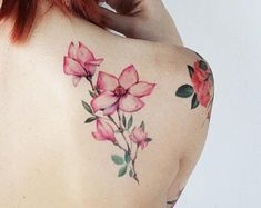 Tattoos, must try post plan number 3650254900 Cross Shoulder Tattoos, Shoulder Tattoos For Women, Hip Tattoos Women, Tattoos For Kids, Woman Tattoos, Blue Rose Tattoos, Flower Tattoos, Feminine Tattoos, Unique Tattoos