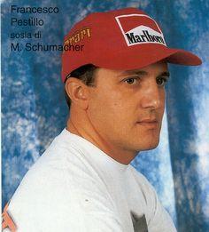 Sosia Michael Schumacher - Eventi7 communication Michael Schumacher, Sharon Stone, George Clooney, Communication, Georgia, Communication Illustrations