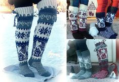 Photo Knit Or Crochet, Leg Warmers, Mittens, Socks, Ravelry, Slippers, Knitting, Wall Photos, Gifts