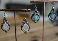 Macrame earrings | Nomad Baco 通信