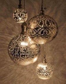 Lampa - Belysning | SPITI - Skön inredning - Marockansk orientalisk indisk fransk provence i MOOD