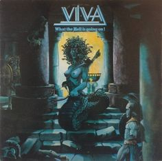 Viva  ‎– What The Hell Is Going On Label: CBS ‎– 85 372 Format: Vinyl, LP, Album Country: Germany Released: 1981 Genre: Rock Style: Hard Rock