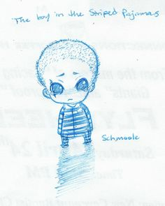the boy in the striped pajamas. one of the saddest books i've ever read. one of the saddest movies i ever seen.   (c) animefreec on deviantART