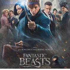 2016 Fantastic Beasts and Where to Find Them The adventures of writer Newt Scamander in New York's secret community of witches and wizards seventy years before Harry Potter reads his book in school. Harry Potter Villains, Harry Potter Actors, The Beast, Fantastic Beasts Movie, Fantastic Beasts And Where, Alison Sudol, Eddie Redmayne, Katherine Waterston, Film 2016