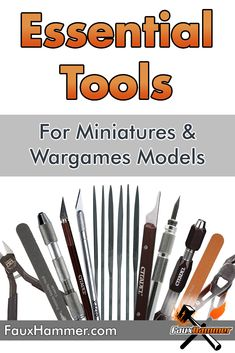 I've been wanting to summarise the Essential Hobby Tools for Miniatures & Wargames Models for quite some time. It's rather obvious what many of them [. Modeling Techniques, Modeling Tips, Diy Belt Sander, Dremel Tool Projects, Fondant Figures Tutorial, 3d Printing Diy, Hobby Tools, Model Maker, Model Hobbies
