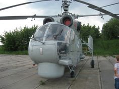 The Kamov Ka-27 (NATO reporting name 'Helix') is a military helicopter developed for the Soviet Navy