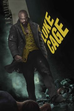 "Read up on Luke Cage's history before watching ""Marvel's Luke Cage."" Season 2 debuts this Friday, June on Netflix! Comic Book Covers, Comic Books Art, Comic Art, Book Art, Detective, Luke Cage Jessica Jones, Luke Cage Marvel, Old Man Logan, Defenders Marvel"