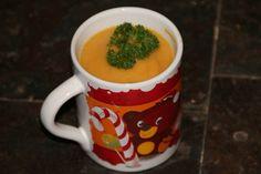 Velouté de chou fleur au massalé au Cookéo C'est Bon, Mugs, Tableware, Sprouts, Recipes, Kitchens, Travel, Dinnerware, Tumblers